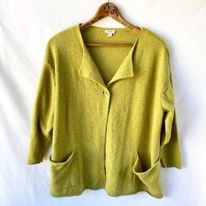 Green PUREJILL Wool Sweater medium
